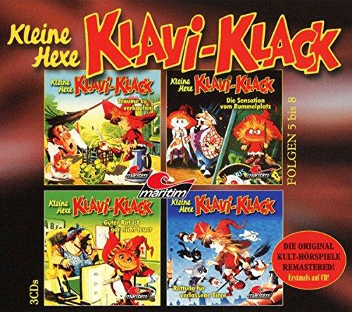 Kleine Hexe Klavi-Klack Folgen 5-8