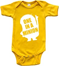 Infant Short Sleeve Bodysuit - One in A Minion