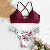 Zoom IMG-1 zaful bikini set rosso l