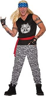 80s Rock Star Adult Costume-