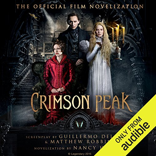 Crimson Peak audiobook cover art