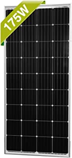 Newpowa 160/175 Watts 12 Volts Moncrystalline/Polycrystalline Solar Panel High Efficiency Module (175 Watt Mono)