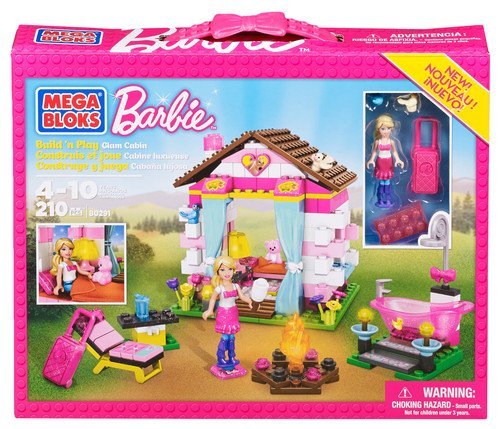Barbie - Cabaña en el Bosque Mega Brands 80291