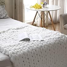 Best knitted wool throw blanket Reviews
