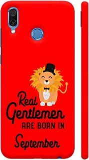 Colorpur Real Gentlemen are Born in September 3 Printed Back Case Cover for Honor Play