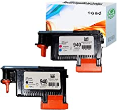 HGZ 2 Pack HP940XL 940 Printhead for HP Officejet Pro 8000 8500 Hp 940 Print Head C4900A C4901A for HP Officejet Pro 8000 8500 8500A 8500A Plus 8500A Printer