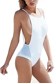 Zero City Women's One-Piece Swimsuit Monokini Sexy Backless Bathing Suit