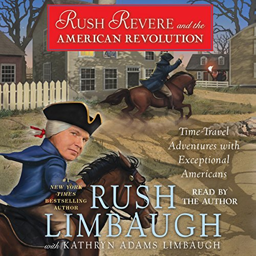 Rush Revere and the American Revolution audiobook cover art