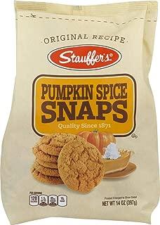 stauffers pumpkin spice snaps