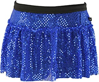 Women's Sparkle Running Skirt | Running Tutu | Glitter Running Skirt | Running Costume | Sequin Running Skirt