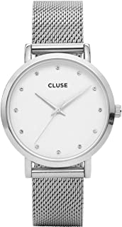 Cluse Pavane Collection 38MM Quartz Movement Analog Display Minimal Design Watches for Women and Girls