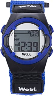 WobL Blue 8 Alarm Vibration Reminder Watch