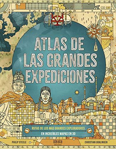 Atlas de las grandes expediciones (IDEAKA)