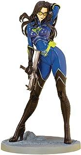 Kotobukiya GI Joe: Baroness (25th Anniversary Blue Version) Bishoujo Statue, Multicolor
