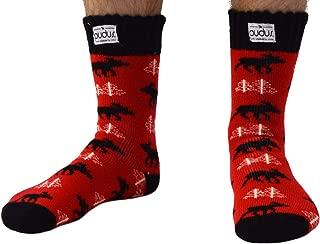 Adult Warm Boot Socks M 9-12 Fleece-Lined Crew Thermal Socks Men & Women