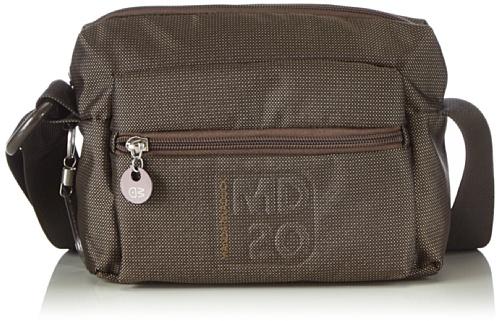 Mandarina Duck MD20 Shoulder Bag 14116TT7651, Nero (Nero (nero)), 21x15x8 cm (B x H x T)