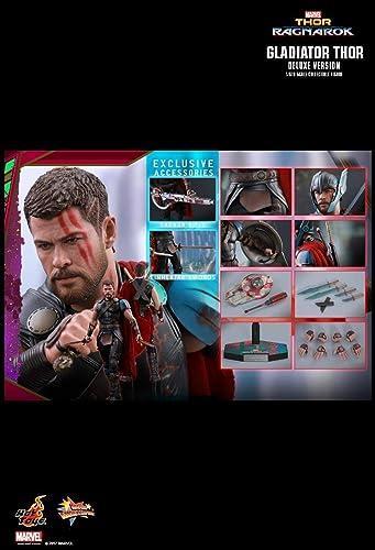 Hot Toys MMS445 - Marvel Comics - Thor 3   Ragnarok - Gladiator Thor - Deluxe