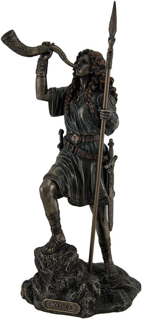 Resin Statues Boudica Warrior Queen Blowi Sale Regular dealer Spear Of Holding Iceni