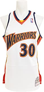 Mitchell & Ness Stephen Curry Golden State Warriors #30 NBA Men's 2009-2010 Authentic Jersey White