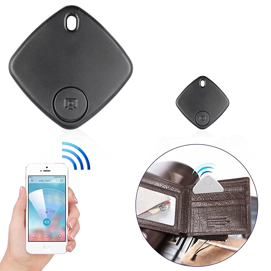 HonsCreat Remote GPS Locator, Wireless Bluetooth Tracker For Car Phone Dog Key Wallet Locator (Black)