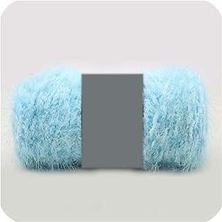 Ball 100g/pcs Yarn 4 PLY 10S Chunky Hand Mink Cashmere Knit Crochet Fluffy Wool Yarn,3