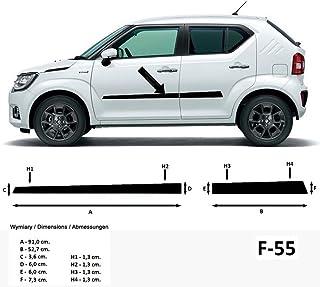 Listelli di Protezione Laterali per Mitsubishi L200 V Pickup Cabina Doppia a 4 Porte L 200 dallanno di Costruzione 11.2014 Colore: Nero 370004004 F40 Spangenberg