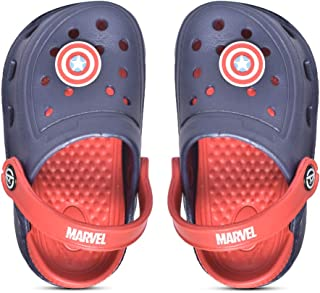 Marvel Avengers by Toothless Kids Boys Navy/Red Clogs