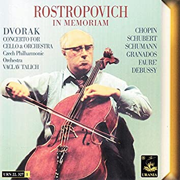 Dvořák|: Concerto for Cello and Orchstra