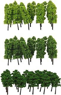 150 Zug Eisenbahn Landschaft Landschaftsmodell Bäume N Skala mit 10 stück 1