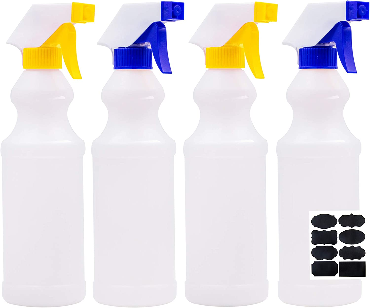 Youngever Plastic List price Spray Bottles Leak Sale special price Proof 16 Spra Pack 4 Ounce