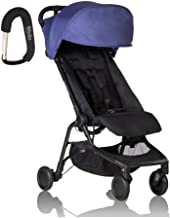 2017 Mountain Buggy Nano Stroller - FREE BABY GEAR XPO STROLLER HOOK WITH PURCHASE (Nautical)