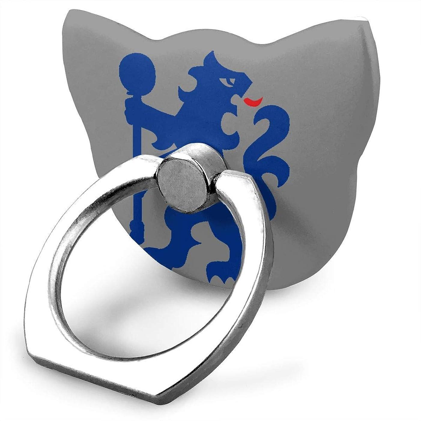 驚くばかりシンカンヒゲクジラチェルシー サッカー 青いライオン スマホ リング ホールドリング 指輪リング 薄型 おしゃれ スタンド機能 落下防止 360度回転 タブレット/スマホ\r\n IPhone/Android各種他対応