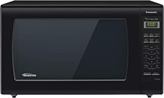 Panasonic Microwave Oven NN-SN936B Black Countertop with Inverter Technology and Genius Sensor, 2.2 Cubic Foot, 1250W