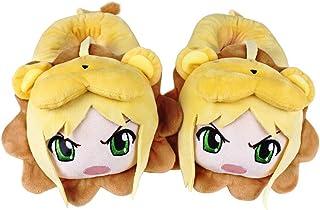 EASTVAPS Chaussures Pantoufles de Dessin animé Anime Sabre Arthur King Pantoufles en Coton Chaud