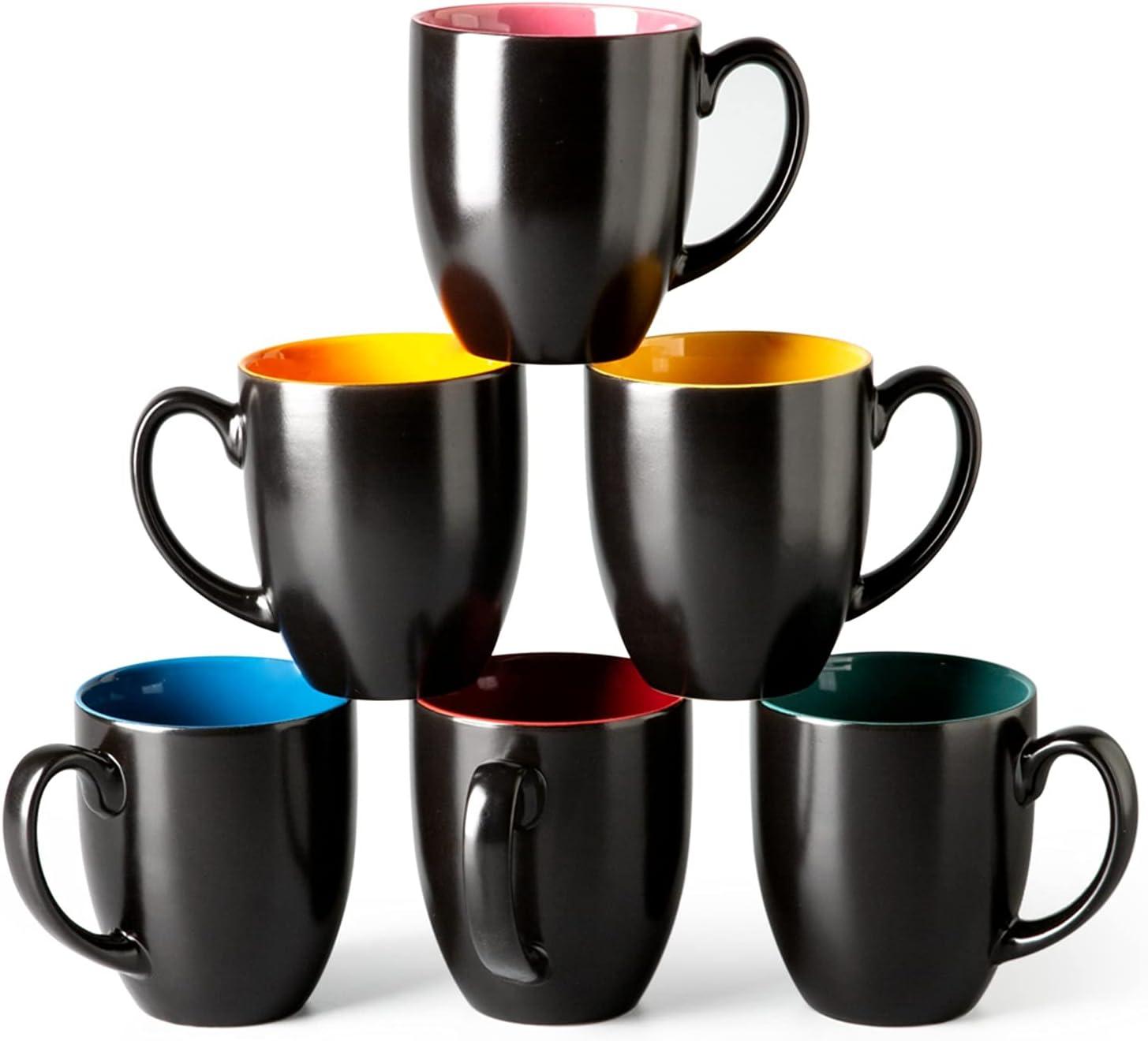 GBHOME Coffee Mugs Set Ranking TOP4 of 6 Mug Su Ceramic Ounce 17 Ranking TOP13