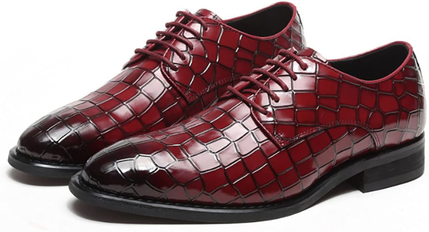 Men's Leather shoes Wedding Leather shoes Men's Fashion shoes Fall Comfort Oxfords Walking shoes Office & Career Party & Evening