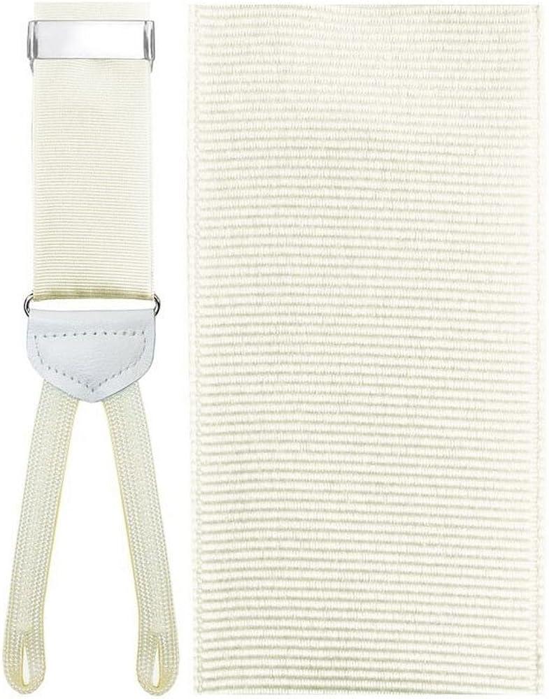 Oristano Ivory Suspenders