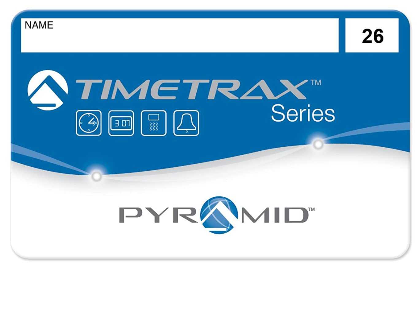 寛解協会組み立てるPyramid 41303 従業員用スワイプカード 番号26-50 TimeTrax TTEZ/TTEZEK/PSDLAUBKK/TTPRO/TTMOBILE/FASTTIME 8000/FASTIME 9000用タイムレコーダーシステム TTEZタイムレコーダーシステム用に購入の場合、従業員25名用アップグレードソフトウェアパッケージが必要です。 25個パック。