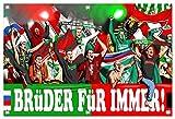 Ultras Rapid& NürnbergFreundschaft Bild auf PVC Plane/PVC Banner inkl Ösen, Maße: 120x80 cm