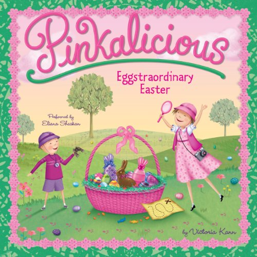 Pinkalicious     Eggstraordinary Easter              By:                                                                                                                                 Victoria Kann                               Narrated by:                                                                                                                                 Eliana Shaskan                      Length: 9 mins     5 ratings     Overall 4.8