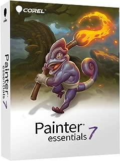 Corel | Painter Essentials 7 | Authentic Digital Art Suite with PhotoMirage | Amazon Exclusive [PC Disc]