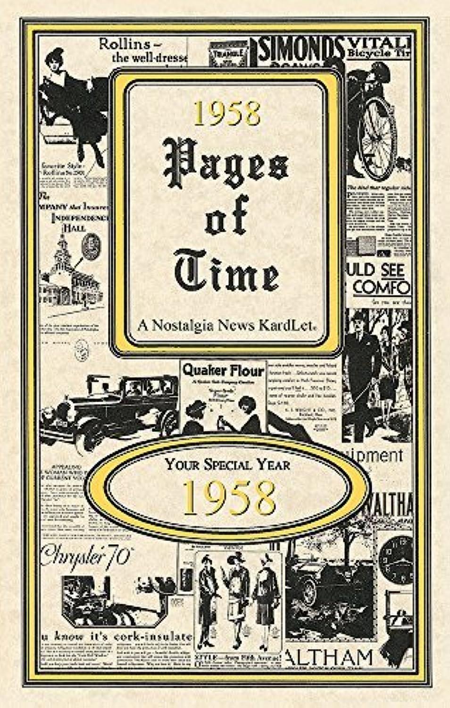 Seek Publishing PT1958 Page of Time Time Time Kardlet von Seek Publishing B016Z6VCU4   Queensland  47aa39