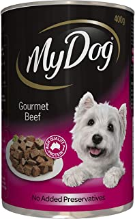 MY DOG 12010 Gourmet Beef Dog Wet Food 400g