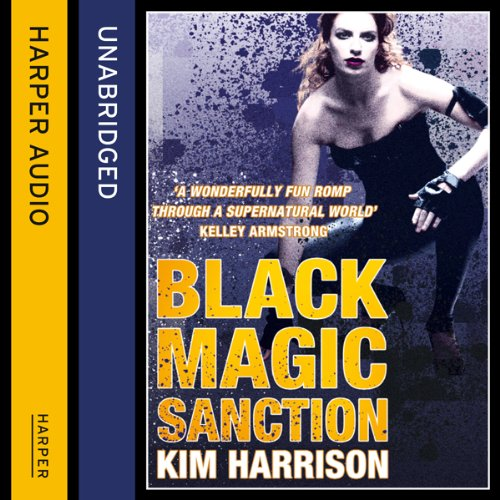 Rachel Morgan: The Hollows (8) - Black Magic Sanction audiobook cover art