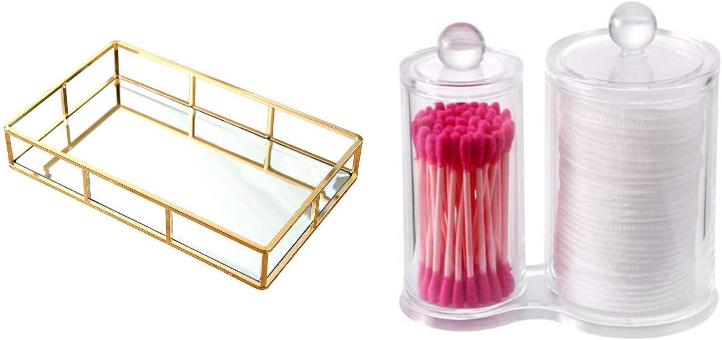 Bundle - PuTwo Mirror Tray Arlington Mall Pads and Cotton Seattle Mall Holder
