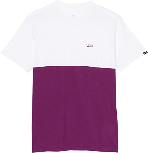 Dark Purple/White