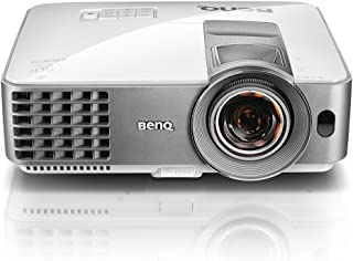 BenQ Office Projector (MW632ST), DLP, WXGA, 3200 Lumens, Short Throw, MHL Connectivity, Keystone, USB-A, Eco Friendly, Lon...