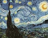 Madera Puzzle 1500 Piezas Noche Estrellada Abstracta de Van Gogh DIY Adultos Ocio Toys Decoracion