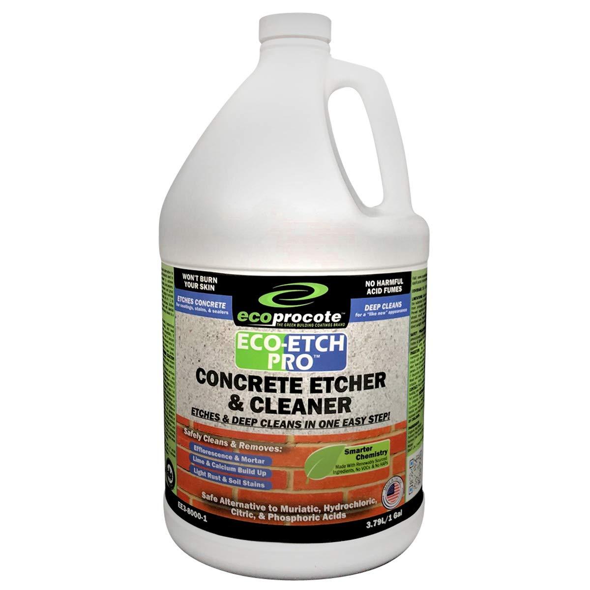 Eco Etch Concrete Efflorescence Muriatic Alternative