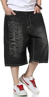 Saoye Fashion Short Men'S Casual Pants Men'S Denim Stretch Loose Jeans Trousers Clothing Casual Boys Young Fashion Big Siz...